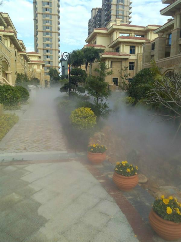 人造雾建筑造景